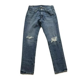 Abercrombie & Fitch Langdon Slim Stretch Jeans